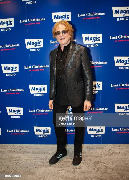 Mick Hucknall of Simply Red attends Magic Radio's Magic of Christmas with 'Last Christmas' at London Palladium on November 24, 2019 in London,...