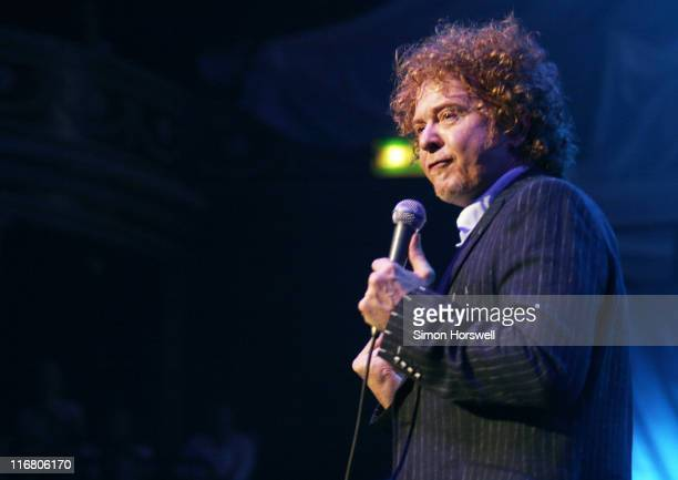 Mick Hucknall of Simply Red during Simply Red in Concert at Royal Albert Hall May 24 2007 at Royal Albert Hall in London Great Britain