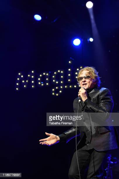 """Mick Hucknall of Simply Red performs on stage during Magic Radio's Magic Of Christmas with """"Last Christmas' at London Palladium on November 24, 2019..."""