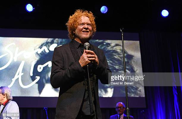 Mick Hucknall performs at Bill Wyman's 80th Birthday Gala as part of BluesFest London at Indigo at The O2 Arena on October 28 2016 in London England