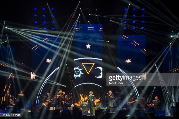 Mick Hucknall performs at the Music For Marsden 2020 at The O2 Arena on March 3, 2020 in London, England.
