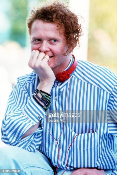 Mick Hucknall vocalist and frontman of the band Simply Red Rome Italy 1987