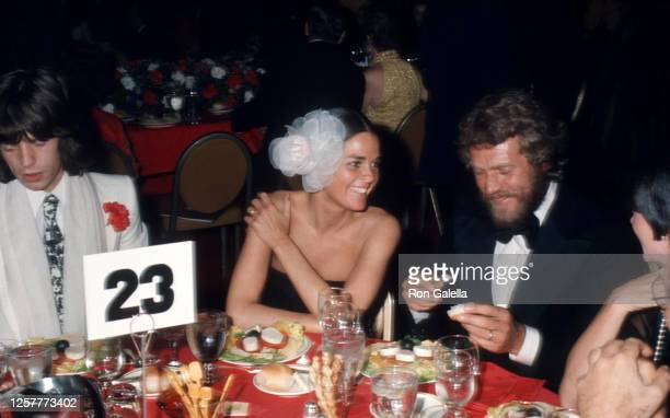 Mick Jagger, Ali MacGraw and Steve McQueen attend Second Annual American Film Institute Lifetime Achievement Awards Honoring James Cagney at the...
