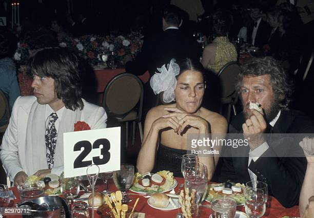 Mick Jagger Ali MacGraw and Steve McQueen