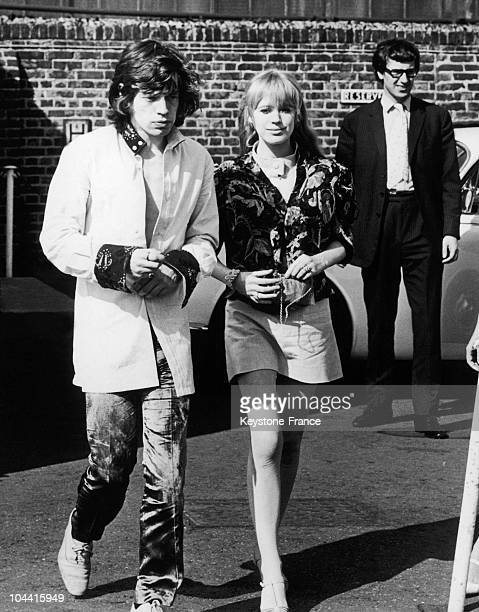 Marianne faithfull mick jagger pictures and photos getty images mick jagger and his partner marianne faithfull at battersea airport on july 31 1967 thecheapjerseys Gallery
