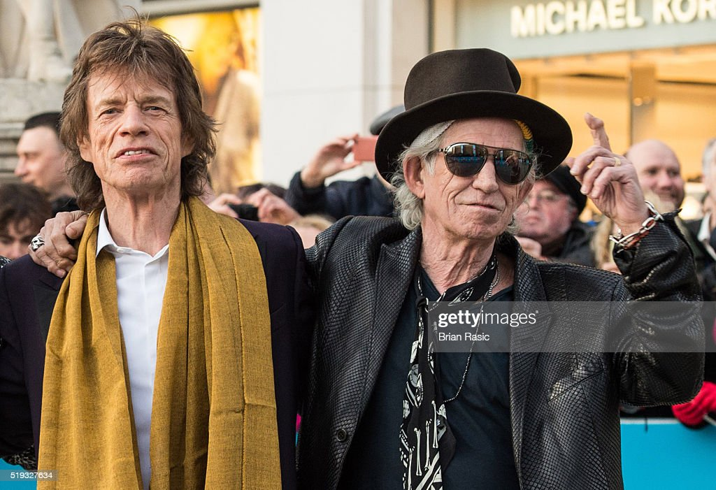 'The Rolling Stones: Exhibitionism' - Private View - Red Carpet Arrivals : News Photo