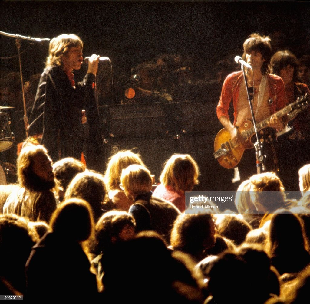 The Rolling Stones At Altamont : News Photo