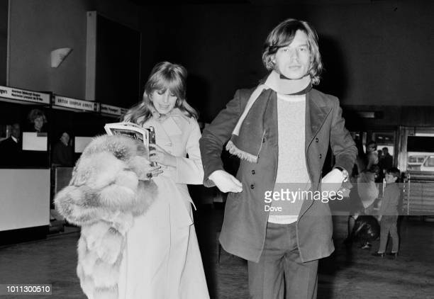 Marianne faithfull 1960s pictures and photos getty images mick jagger and marianne faithfull at london airport 13th april 1968 altavistaventures Image collections