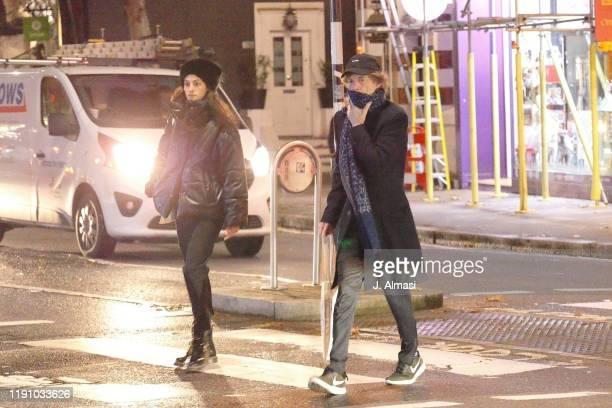 Mick Jagger and Melanie Hamrick sighting on November 28 2019 in London England