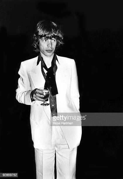 Mick Jagger at Studio 54 at Bianca Jagger's birthday party NYC May 1977