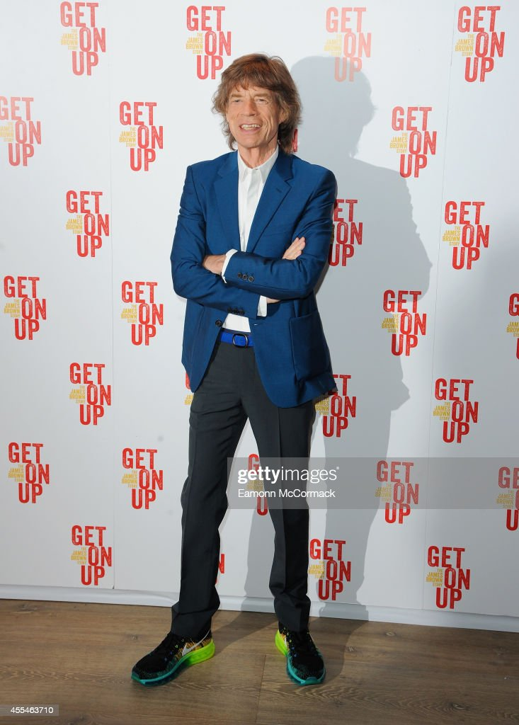 Mick Jagger attends a special screening of 'Get On Up' on September 14, 2014 in London, England.