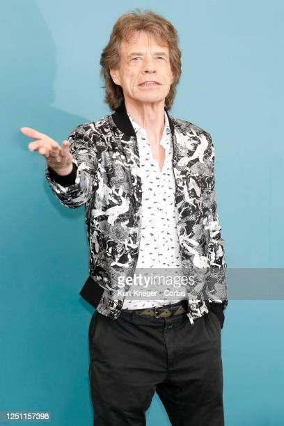Mick Jagger attends the photo call for 'The Burnt Orange Heresy' during the 76th Venice Film Festival on September 7 2019 in Venice Italy