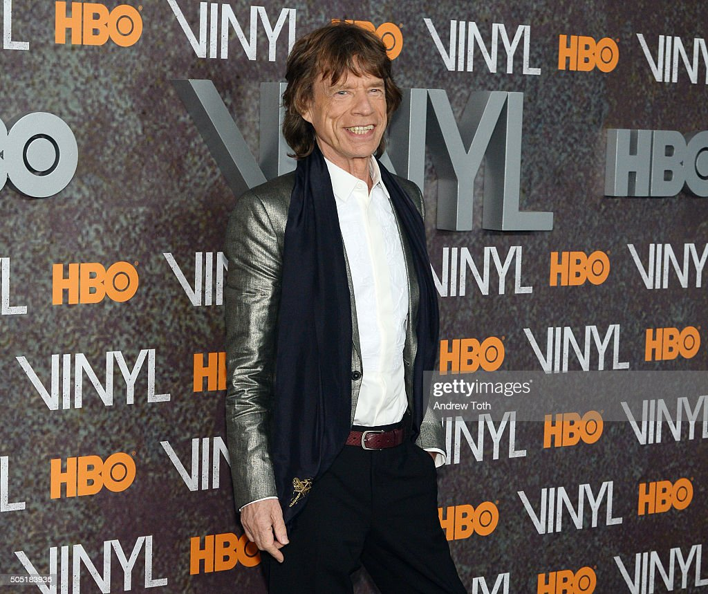"In Focus: Martin Scorsese And Mick Jagger Premiere ""Vinyl"" In New York"