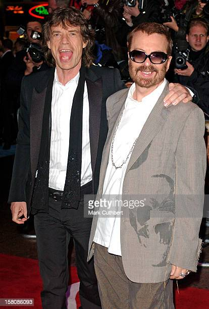 Mick Jagger Dave Stewart Attend The 'Alfie' World Film Premiere In London'S Leicester Square