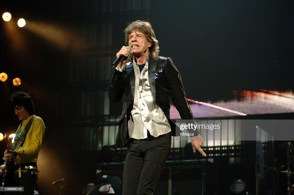 The rolling stones in concert at madison square garden in new york mick jagger during the rolling stones in concert at madison square garden in new york city workwithnaturefo