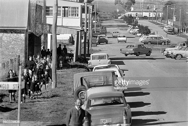 Mick Jagger. Main street of Bungendore. July 1960s