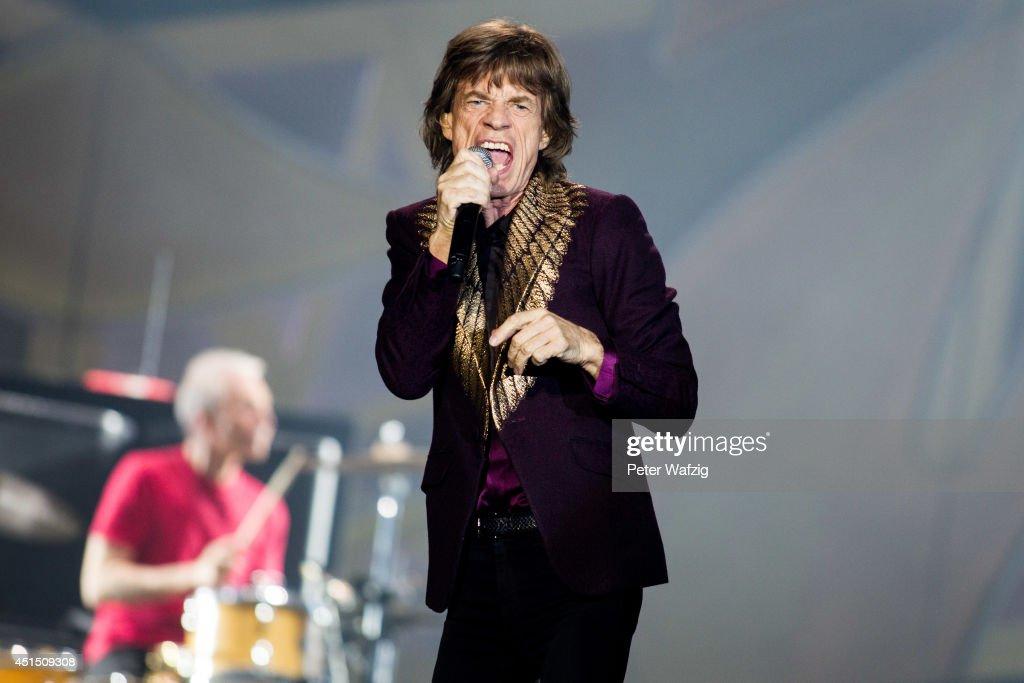Rolling Stones Perform In Duesseldorf : Nachrichtenfoto