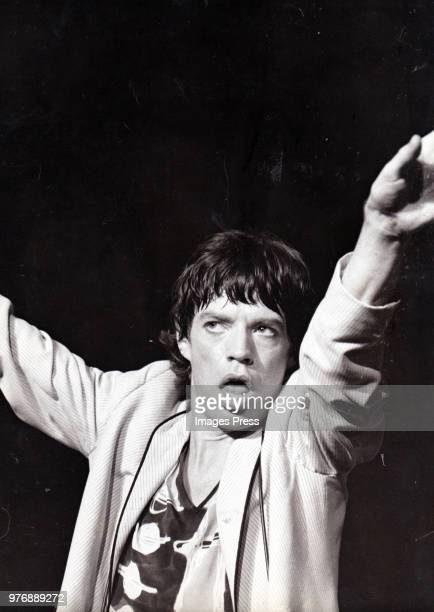 MIck Jagger of the Rolling Stones circa 1978 in New York