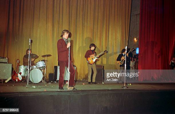 Mick Jagger of The Rolling Stones in performance at the Academy of Music 1964 New York