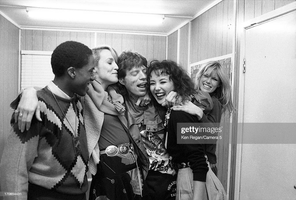 The Rolling Stones, Ken Regan Archive, Backstage 1980's