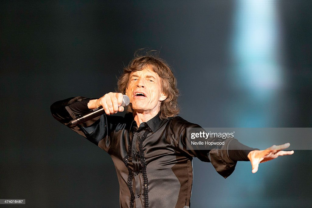 The Rolling Stones Perform At The du Arena, Yes Island : News Photo