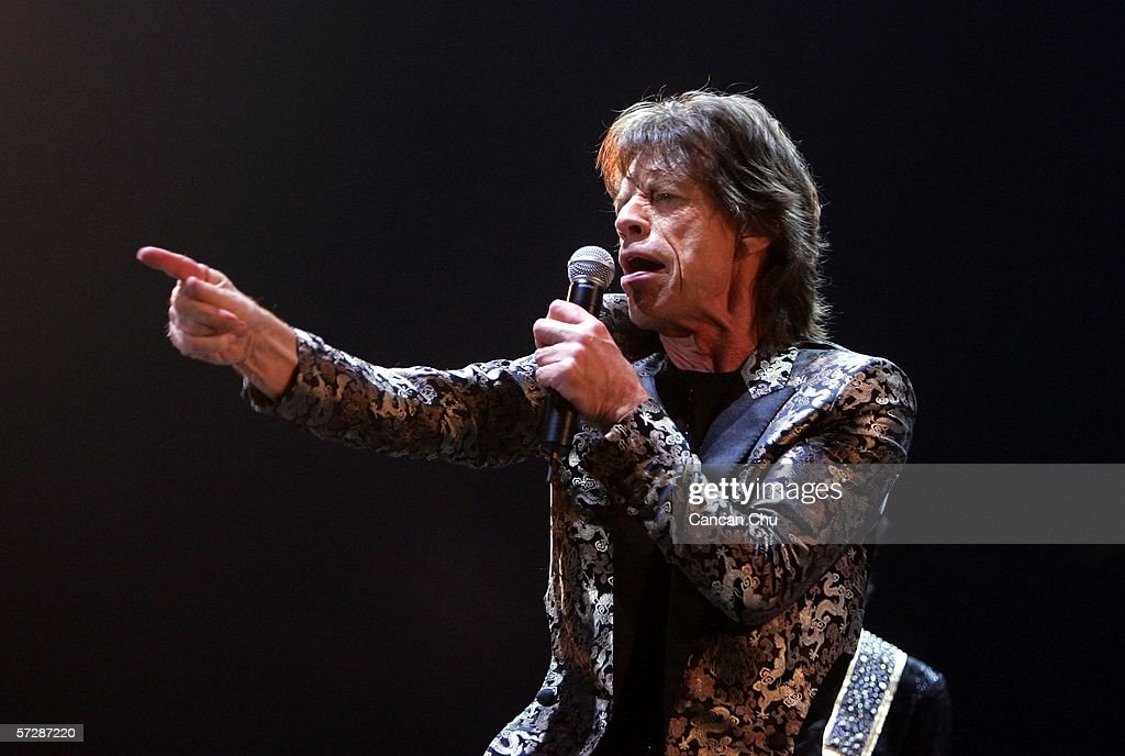 Rolling Stones Perform In China : News Photo