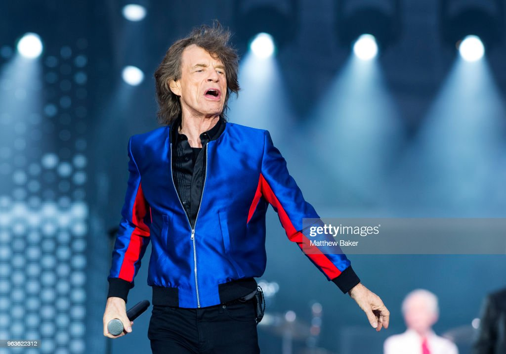 The Rolling Stones Performs At St Mary's Stadium In Southampton : News Photo