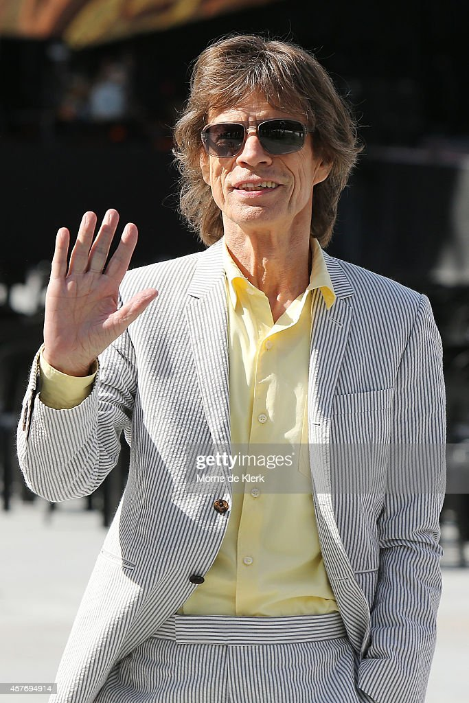 The Rolling Stones Arrive In Adelaide
