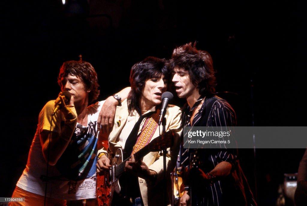 The Rolling Stones, Ken Regan Archive, In Concert 1970's : News Photo