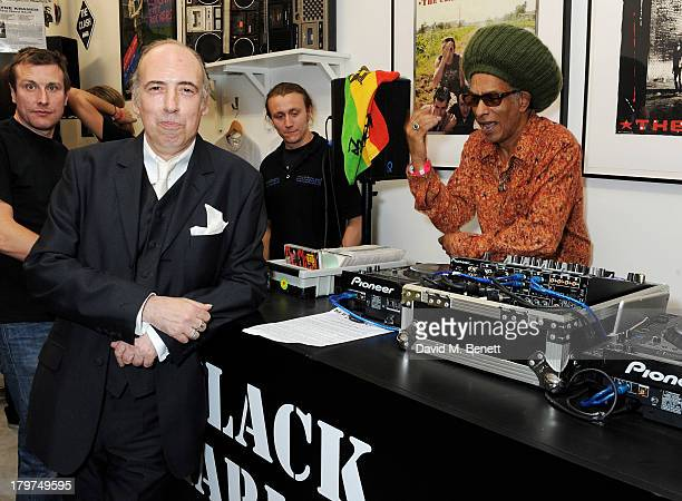 Mick Jones and Don Letts attend the launch of 'Black Market Clash' an exhibition of personal memorabilia and items curated by original members of The...