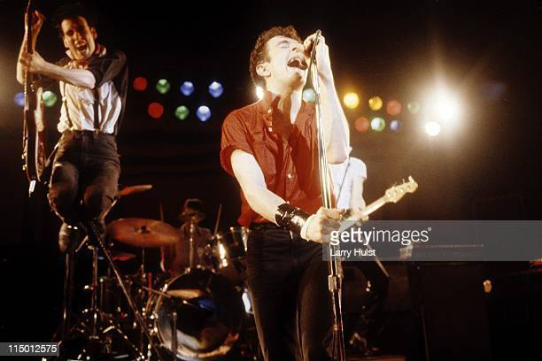 March 2: Mick Jones and Joe Strummer and 'The Clash' performs at Warfield Theater in California on March 2, 1980.