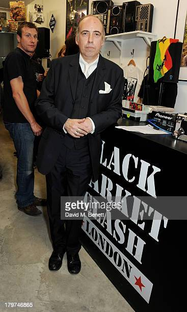 Mick Jones attends the launch of 'Black Market Clash' an exhibition of personal memorabilia and items curated by original members of The Clash at 75...