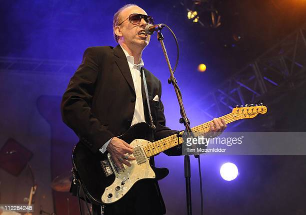 Mick Jones of Big Audio Dynamite performs as part of the 2011 Coachella Valley Music & Arts Festival at the Empire Polo Field on April 16, 2011 in...