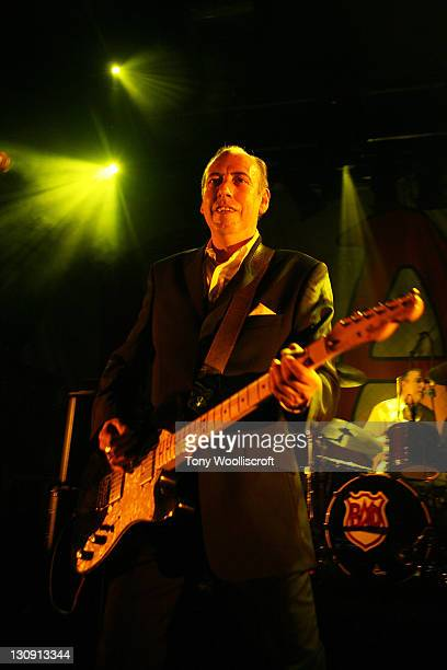 Mick Jones of Big Audio Dynamite performs at Rock City on April 6, 2011 in Nottingham, England.
