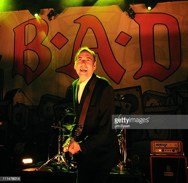 Mick Jones of Big Audio Dynamite performs live on stage at Shepherds Bush Empire on April 2, 2011 in London, England.