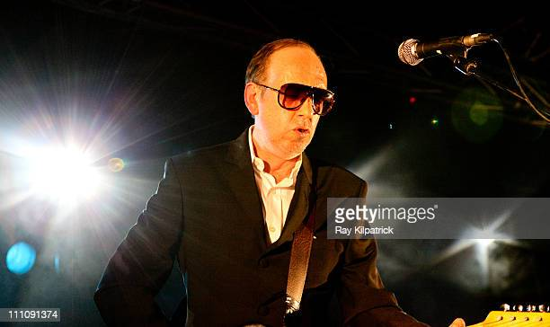 Mick Jones of Big Audio Dynamite performs on stage at O2 Academy on March 29, 2011 in Liverpool, United Kingdom.
