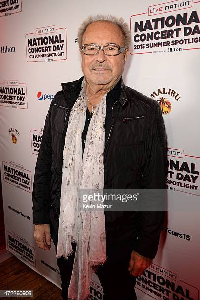 Mick Jones of Foreigner arrives as Live Nation Celebrates National Concert Day At Their 2015 Summer Spotlight Event Presented By Hilton at Irving...