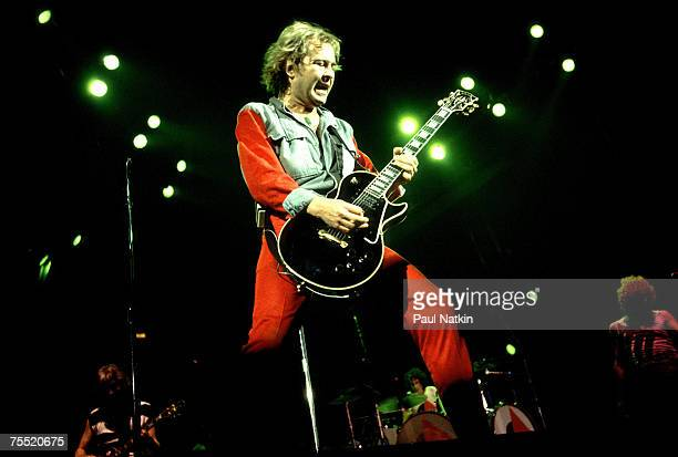 Mick Jones of Foreigner on 11/8/81 in ChicagoIl in Various Locations