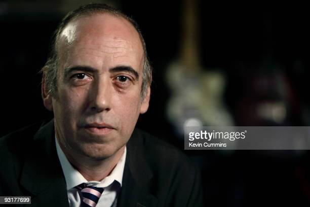 Mick Jones sits for portraits at his studio in North Acton on November 17, 2009 in London, England.