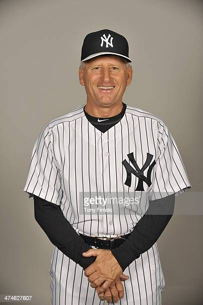 Mick Kelleher of the New York Yankees poses during Photo Day on Saturday February 22 2014 at George M Steinbrenner Field in Tampa Florida