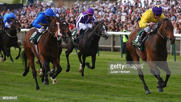 Mick Kinane and Sea The Stars land The stanjamescom 2000 guineas Stakes Race run at Newmarket Racecourse on May 2 2009 in Newmarket England