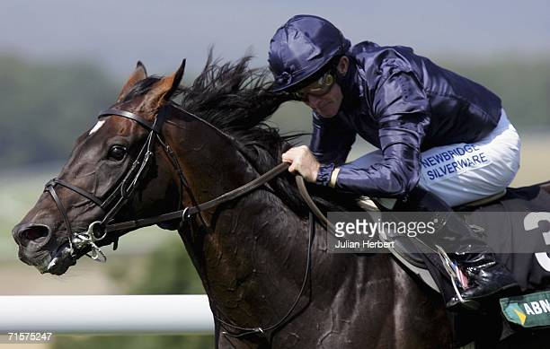 Mick Kinane and Yeats land The ABN AMRO Goodwood Cup Race run at Goodwood Racecourse on August 3 in Goodwood, England. Today was the third day of The...