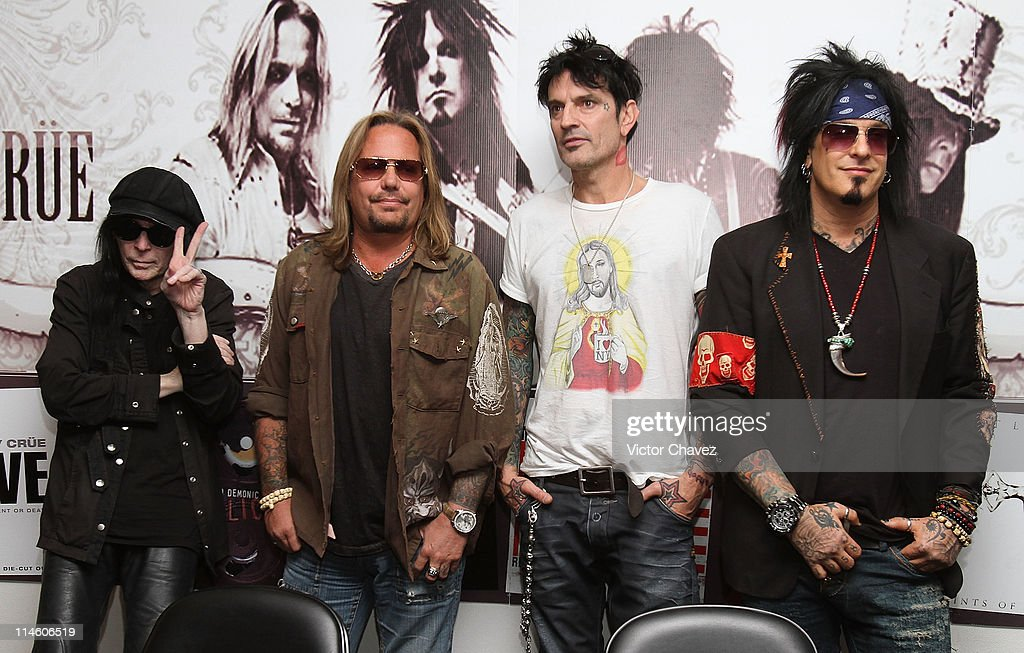 Motley Crue Press Conference : News Photo