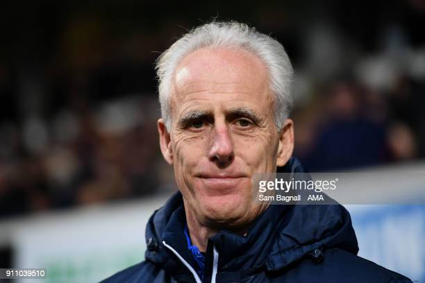 Mick McCarthy manager / head coach of Ipswich Town during the Sky Bet Championship match between Ipswich Town and Wolverhampton at Portman Road on...