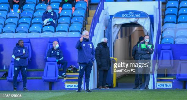 Mick McCarthy, Manager of Cardiff City during the Sky Bet Championship match between Sheffield Wednesday and Cardiff City at Hillsborough Stadium on...