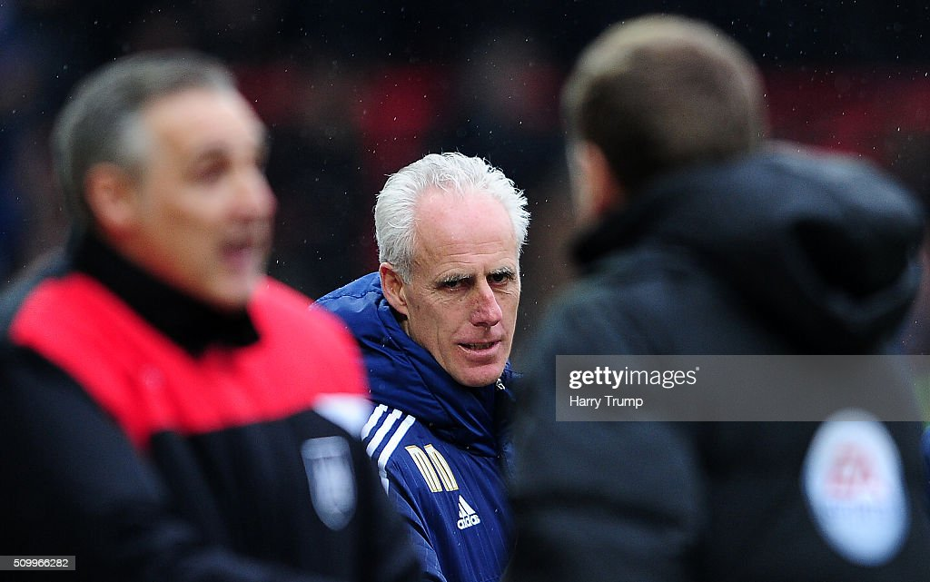 Mick McCarthy, Manager of Ipswich Town during the Sky Bet Championship match between Bristol City and Ipswich Town at Ashton Gate on February 13, 2016 in Bristol, England.