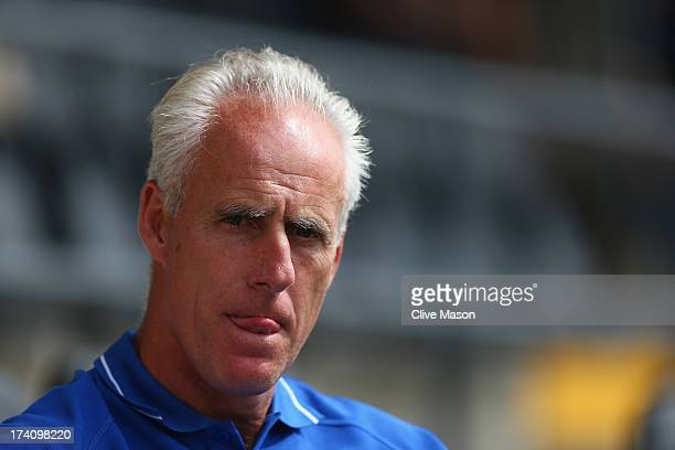 Mick McCarthy of Ipswich Town looks on during the pre season friendly match between Barnet and Ipswich Town at The Hive on July 20 2013 in Barnet...