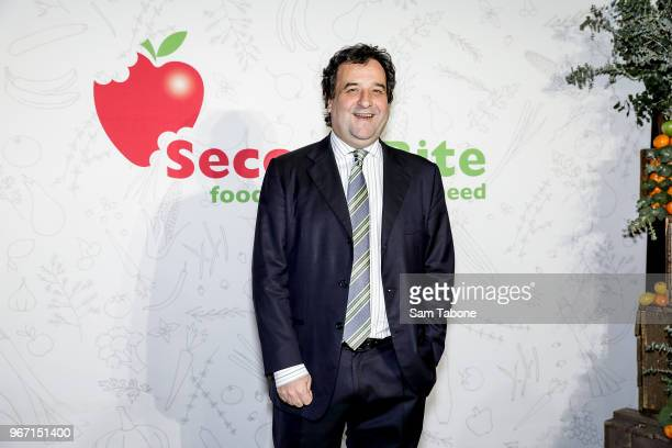 Mick Molloy attends the SecondBite Waste Not Want Not Gala at Melbourne Cricket Ground on June 4 2018 in Melbourne Australia