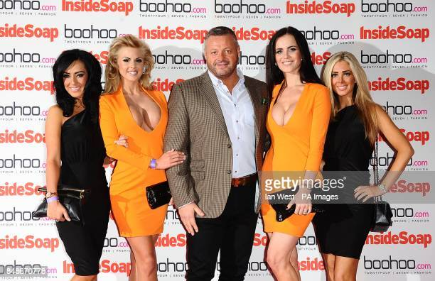 Mick Norcross and The Sugar Hut Honeys at the 2012 Inside Soap Awards at One Marylebone London