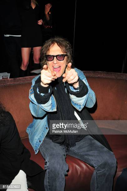Mick Rock attends American Red Cross Concern Worldwide and The Edeyo Foundation Fundraiser at 1 OAK on January 21 2010 in New York City